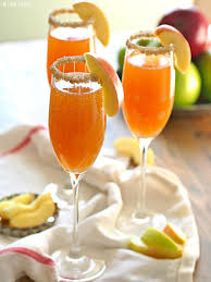 celebrate fall with apple cider mimosas easy recipe for