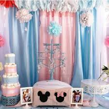 Mickey And Minnie Curtains by Mickey And Minnie Baby Shower Party Ideas Photo 5 Of 8 Catch
