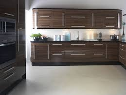 High Gloss Paint For Kitchen Cabinets Apollo Walnut Gloss Replacement Kitchen Design Ipc403 High Gloss