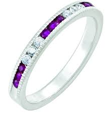 stackable birthstone rings stackable birthstone rings for every month mills jewelers