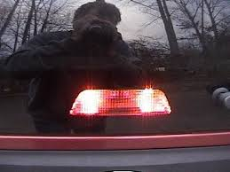 center high mount stop light bulb how to replace the center rear high mount brake light bulb on a