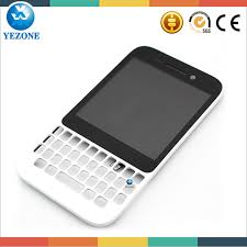 Lcd Q5 brand new white lcd for blackberry q5 lcd display with bezel frame