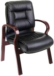 Low Leather Chair Bedroom Extraordinary Guest Office Chairs The Healthy Site Black