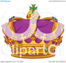 mardi gras crown of a purple green and gold mardi gras crown royalty free