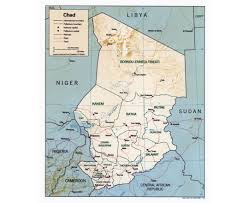 Map Of Central Africa by Maps Of Chad Detailed Map Of Chad In English Tourist Map