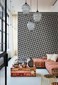 wandgestaltung orientalisch orientalische wandgestaltung in schwarz und weiß schiebegardinen