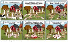 animal farm u0027executions u0027 storyboard by ryleykaine15