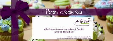 bon cadeau cours de cuisine paiement annulé atelier culinaire de martine et cours de cuisine