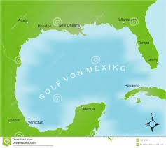 map of the gulf of mexico map of the area of the gulf of mexico royalty free stock image