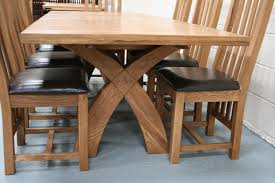 Country Oak Furniture Rustic Oak Dining Table Furniture Oak - Dining table leg designs