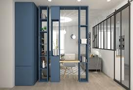 meuble chambre sur mesure porte coulissante separation de 11 a vivre chambre