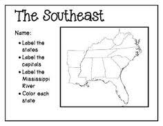us map states and capitals southeast region state capital flashcards matching