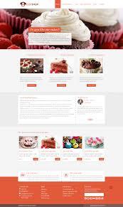 cake bakery wordpress theme justshop by templatation themeforest