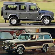 2018 jeep grand wagoneer interior land rover defender 110 vs jeep wagoneer gear patrol