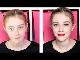 get ready with my 11 year cousin makeup
