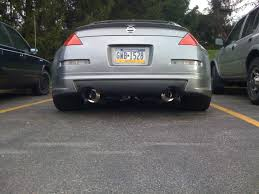 Nissan 350z Nismo Exhaust - official greddy exhaust picture chat thread my350z com