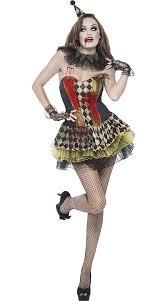 Zombie Costumes Zombie Circus Clown Costume Scary Clown Costume Killer Clown Costume