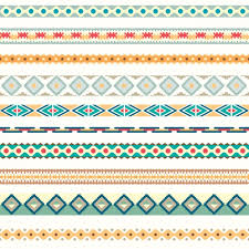 coloured ornaments collection vector free