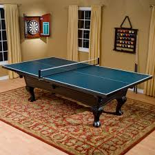 Table Tennis Dimensions Butterfly Pool Table 3 4 In Table Tennis Conversion Top Hayneedle
