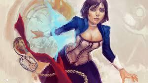 bioshock infinite elizabeth art desktop background world games