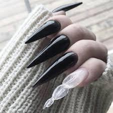 spirit halloween vampire fangs vampire fang nails trend popsugar nails pinterest vampire