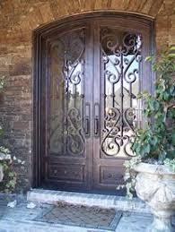 best 25 wrought iron doors ideas on iron front door