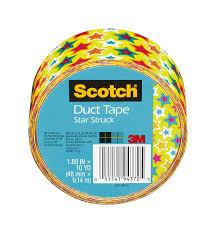amazon com scotch duct tape star struck 1 88 inch by 10 yard
