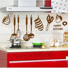 Aliexpress Home Decor Aliexpress Com Buy Kitchen Wall Sticker Decal Kitchenware Wall