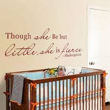 battoo large wall decals shakespeare quote though she be but battoo large wall decals shakespeare quote though she be but little she is fierce wall art stickers 58