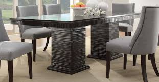 espresso rectangular dining table homelegance chicago collection chicago formal dining set chicago