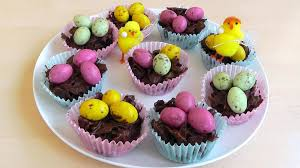 Decorating Easter Chocolate Cupcakes by Easter Chocolate Cornflake Cakes How To Make Recipe Youtube