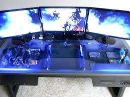 pc built into desk best gamer setups and furniture computer build inside the desk custom built pc built into desk crazy computer