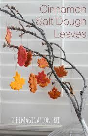 cinnamon salt dough leaf ornaments salt dough leaves and ornament