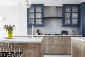 blue bottom and white top kitchen cabinets beautiful blue kitchen cabinet ideas