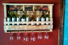 decorating pallet wine rack design with painting ideas on back rack