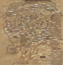 Twin Peaks Map Detailed Map Of Warhammer Total War Based On Campain Gameplay
