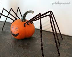 decorating ideas great picture of kid lighted spider pumpkin