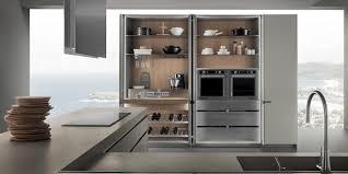 Armadio Con Vano Porta Tv by Cucine Icon Cucine Moderne Di Design Ernestomeda