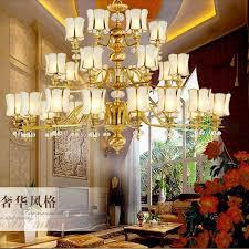 led lighting for banquet halls all copper chandelier high grade decorative ls and lanterns