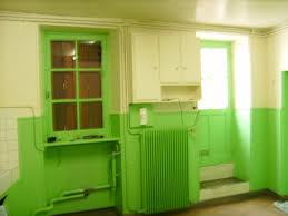 cuisine verte pomme meuble cuisine vert anis beautiful peinture meuble bois 17 une