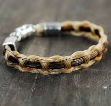jewelry made from hair shadow hair bracelet