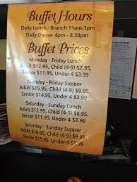 hours and prices picture of china liang s buffet