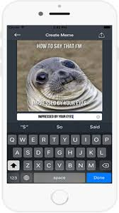 Create Own Meme With Own Picture - make your own meme funny and comic memes chat apps 148apps