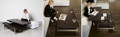 coffee tables that turn into tables convertible tables smart and modern solutions for small spaces