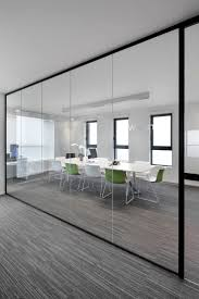Design Ideas For Office Partition Walls Concept Decor Glass Wall Design With Sliding Glass Door Plus Wooden
