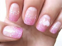 luxury pink nail art designs with gel coodots