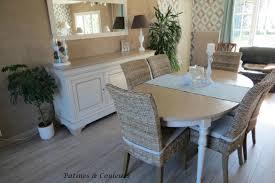 Relooker Une Table Salle à Manger En Merisier Relookée Patines U0026 Couleurs