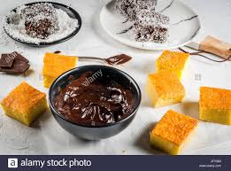 australian cuisine preparation of traditional australian dessert