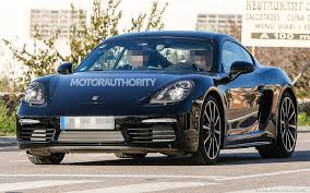 porsche truck 2017 2017 porsche cayman spy shots and video