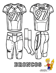 denver broncos coloring page denver broncos coloring pages